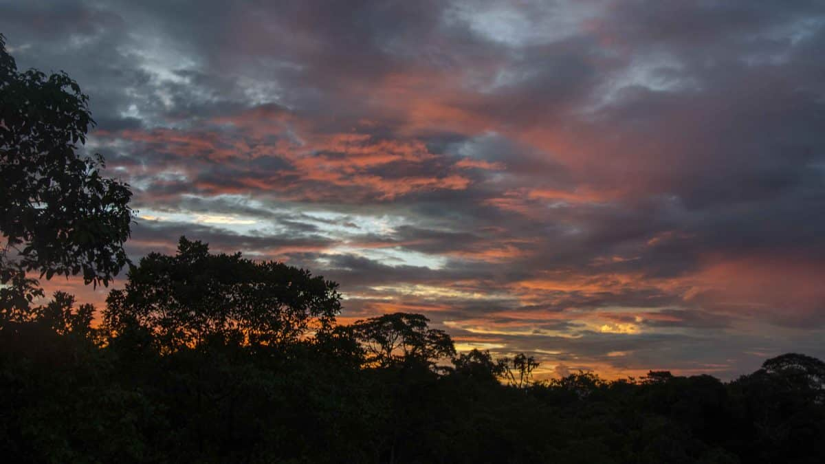 Sunset, San Jorge de Milpe, Ecuador