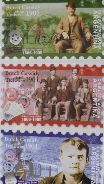 Butch Cassidy Commemorative Stamps from Argentina