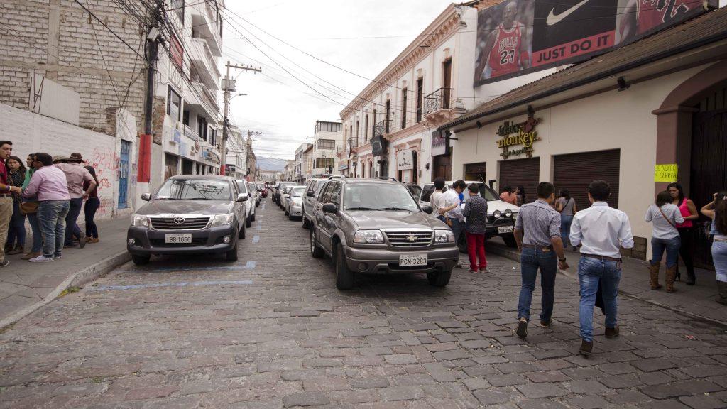 Make-shift Parking Lot