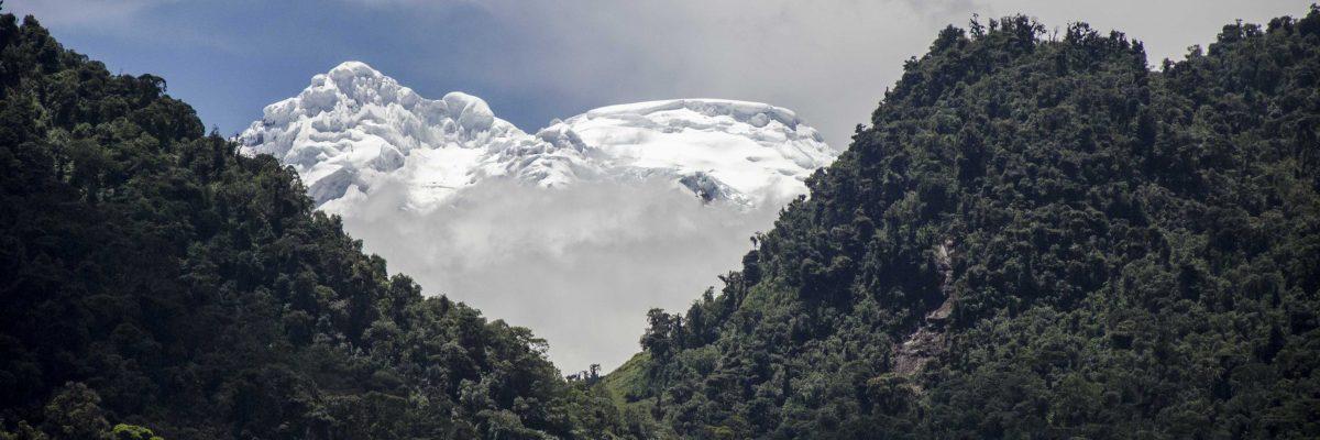 Napo Province, the Highlands, Ecuador