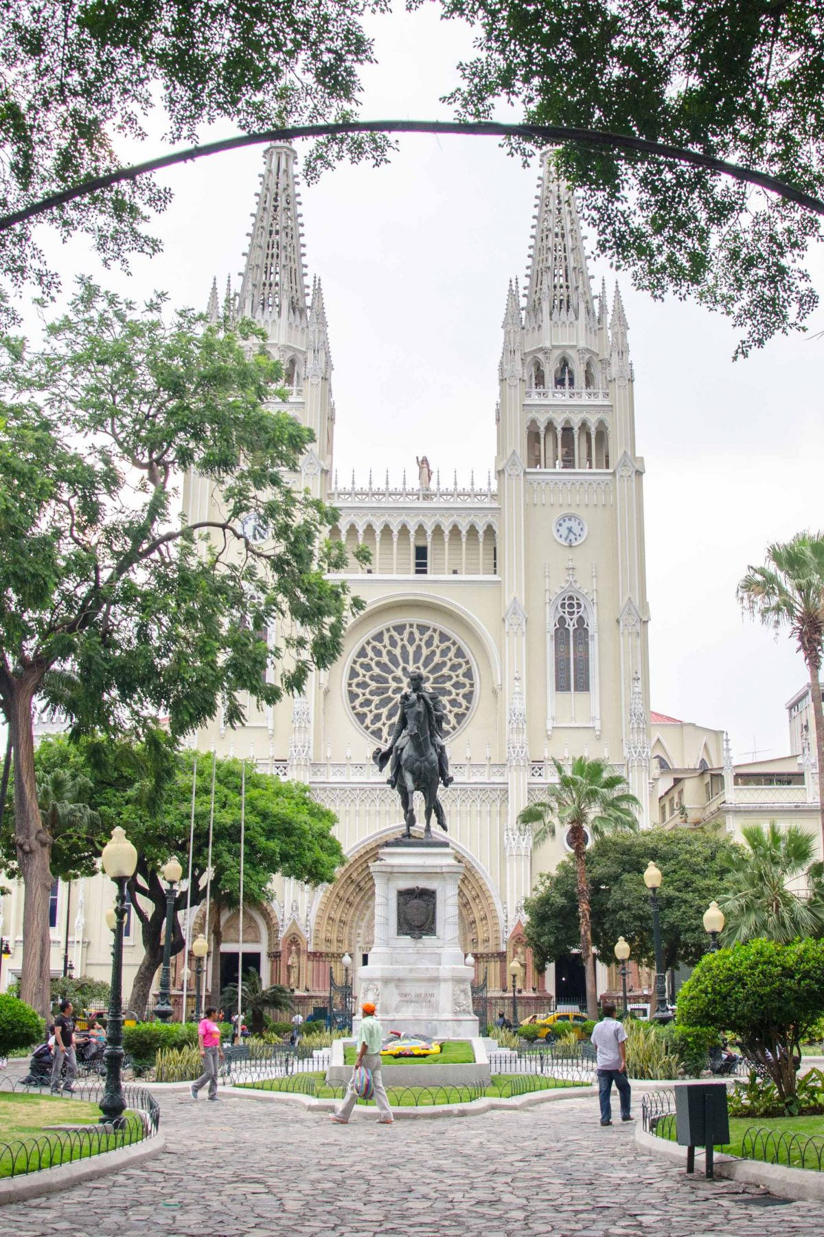 Municipal Cathedral, Guayaquil, Ecuador | © Angie Drake / Not Your Average American