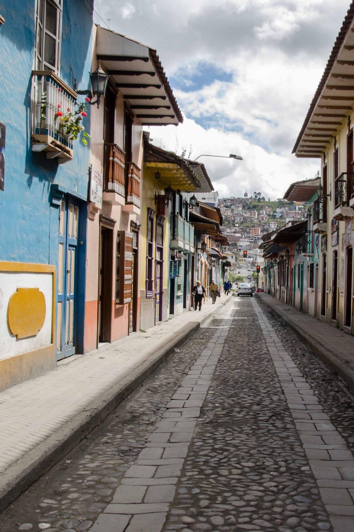 Calle Lourdes, Loja, Ecuador | © Angela Drake