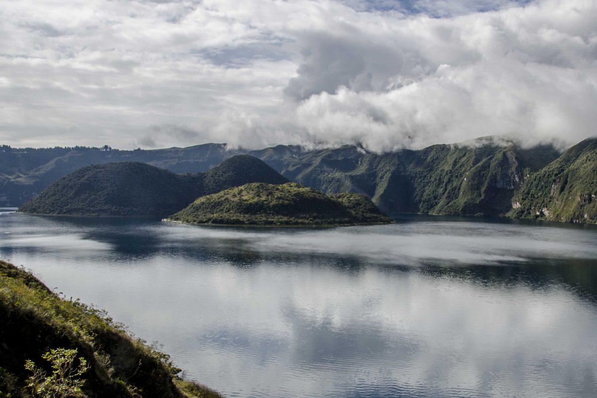 Laguna Cuicocha, Imbabura, Ecuador | ©Angela Drake