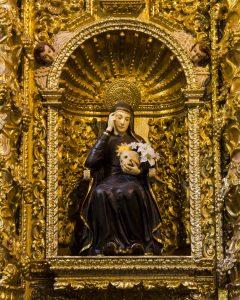 La Compania de Jesus, Quito, Mariana de Jesus