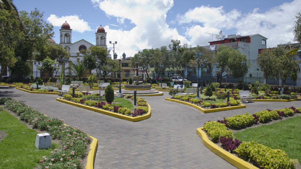 Backroads Ecuador; Plaza Sigchos