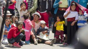 Carnaval in Guaranda, Ecuador