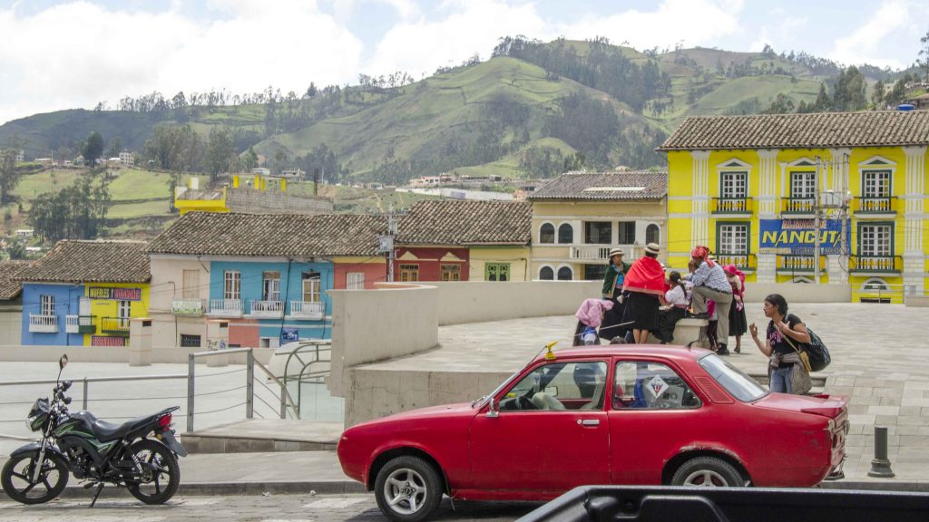 Carnaval in Guaranda, Ecuador