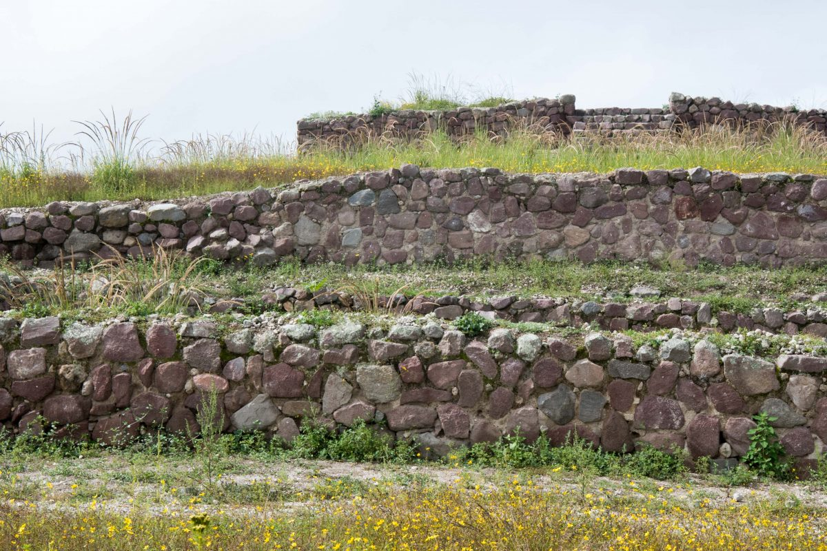 ancient terraces, Rumicucho