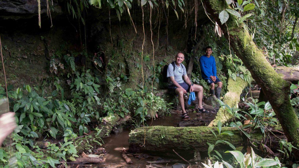 The Hidden Bench, Cascadas Yanayacu, Napo Province, Ecuador
