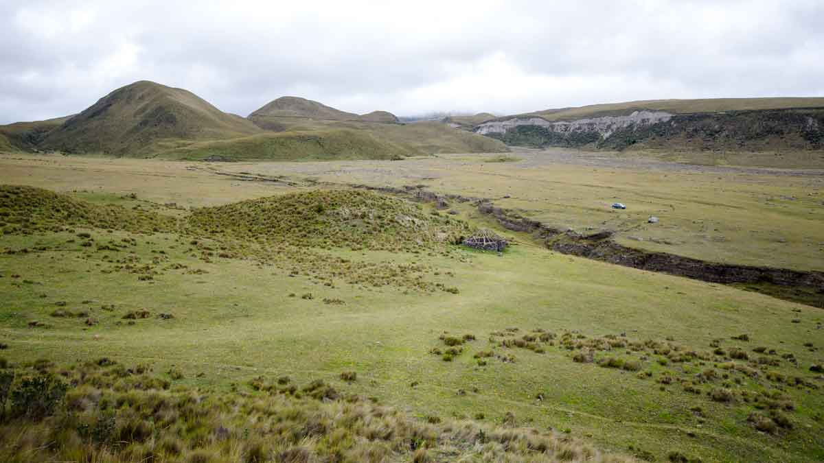 Backroads, Cotopaxi National Park, Ecuador
