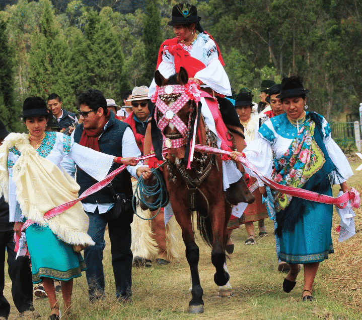 Ecuadorian Solstice Festivals Along the Equator