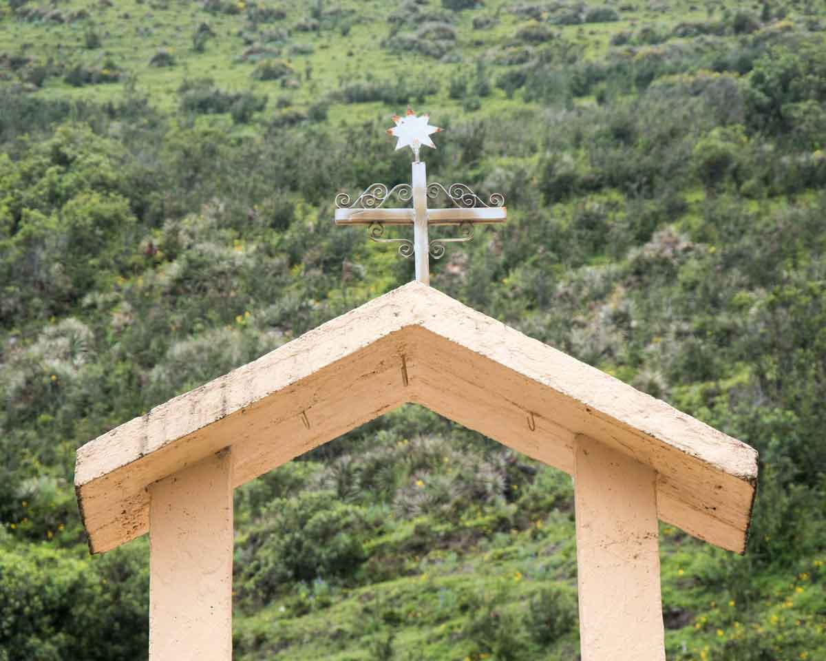Small Chapel on the Backroad to Laguna Mica | ©Angela Drake
