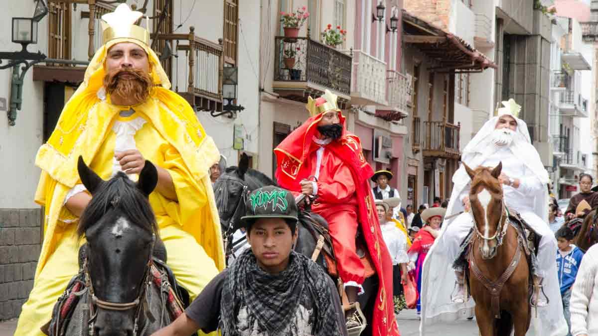 Three Kings in Cuenca, Ecuador | ©Angela Drake / Not Your Average American