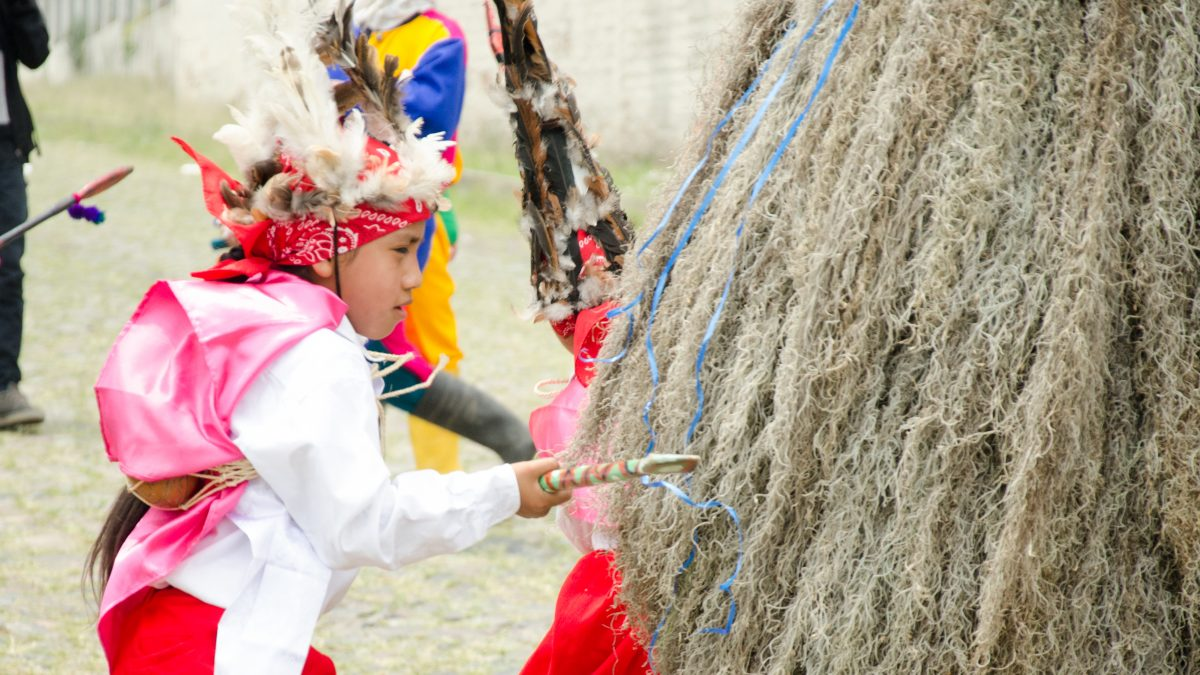 Attacking an aja, Kapak Raymi, Quito, Ecuador | © Angela Drake / Not Your Average American