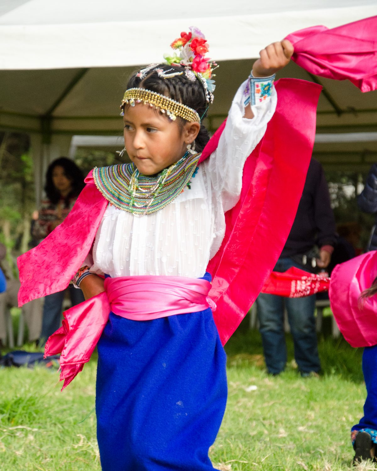 Dancer at Kapak Raymi, Quito, Ecuador | © Angela Drake / Not Your Average American
