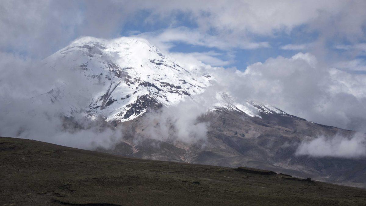Chimborazo Volcano from the Polylepis Trail, Chimborazo Wildlife Reserve, Ecuador   ©Angela Drake / Not Your Average American