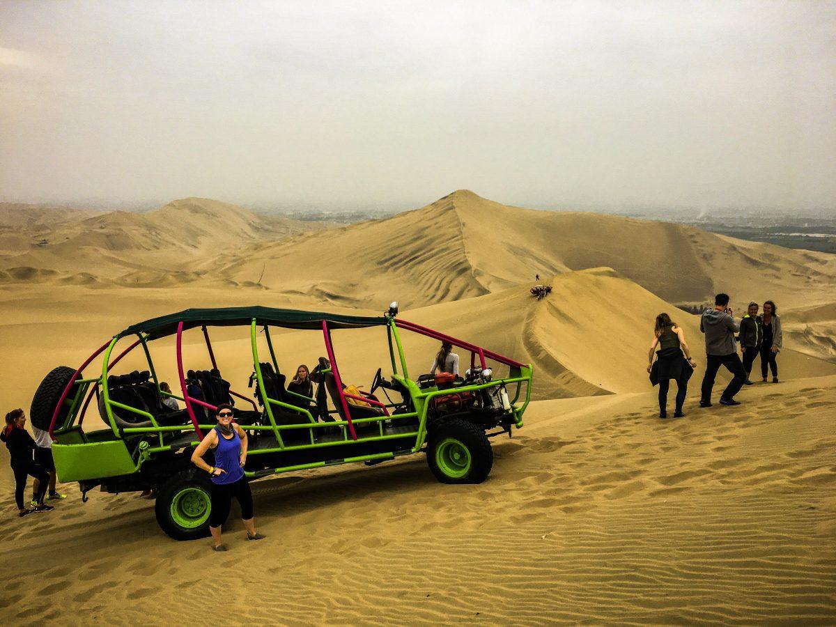 Dune buggy ride, Huacachina, Southern Peru | ©Laura Frasse / Passports & PCS's