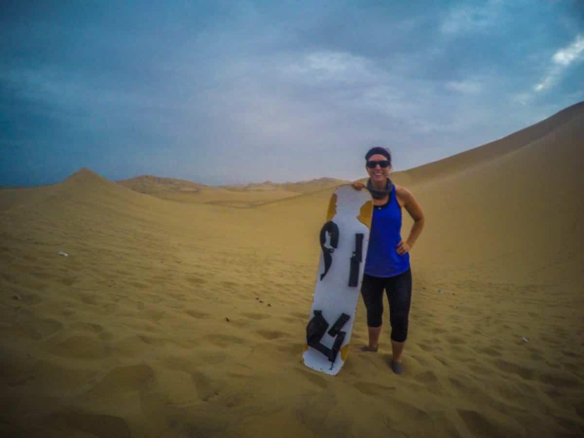 Sandboarding, Huacachina, Southern Peru | ©Laura Frasse / Passports & PCS's