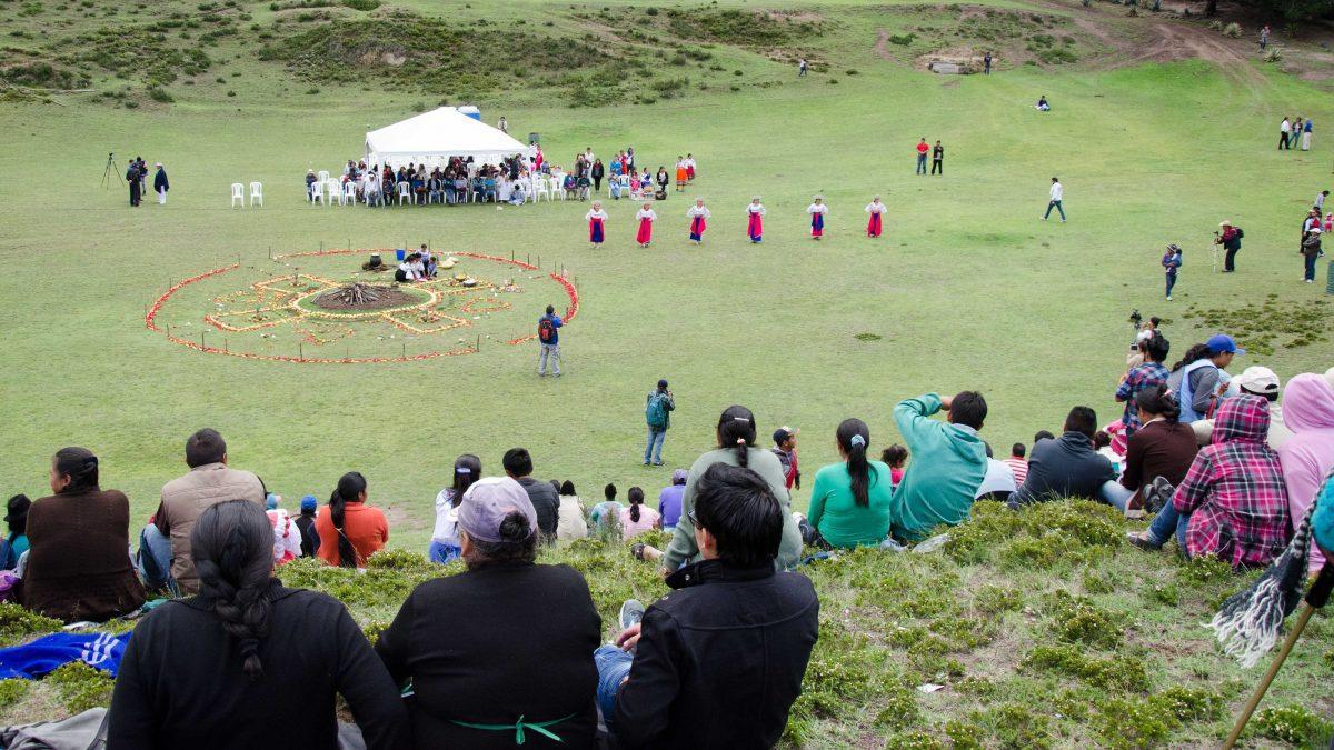 Mushak Nina Celebration, Cochasqui, Ecuador | ©Angela Drake