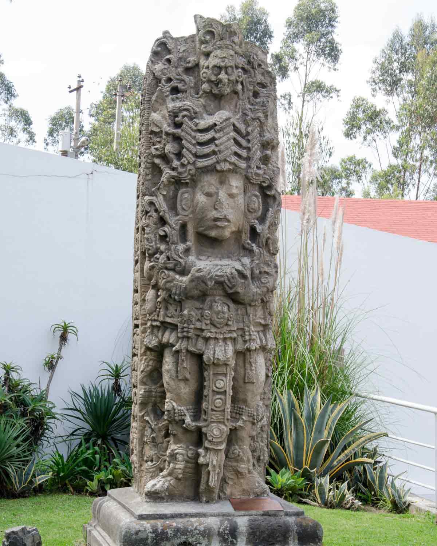 Outdoor Statue, Guayasamin Museum, Quito, Ecuador   @Angela Drake