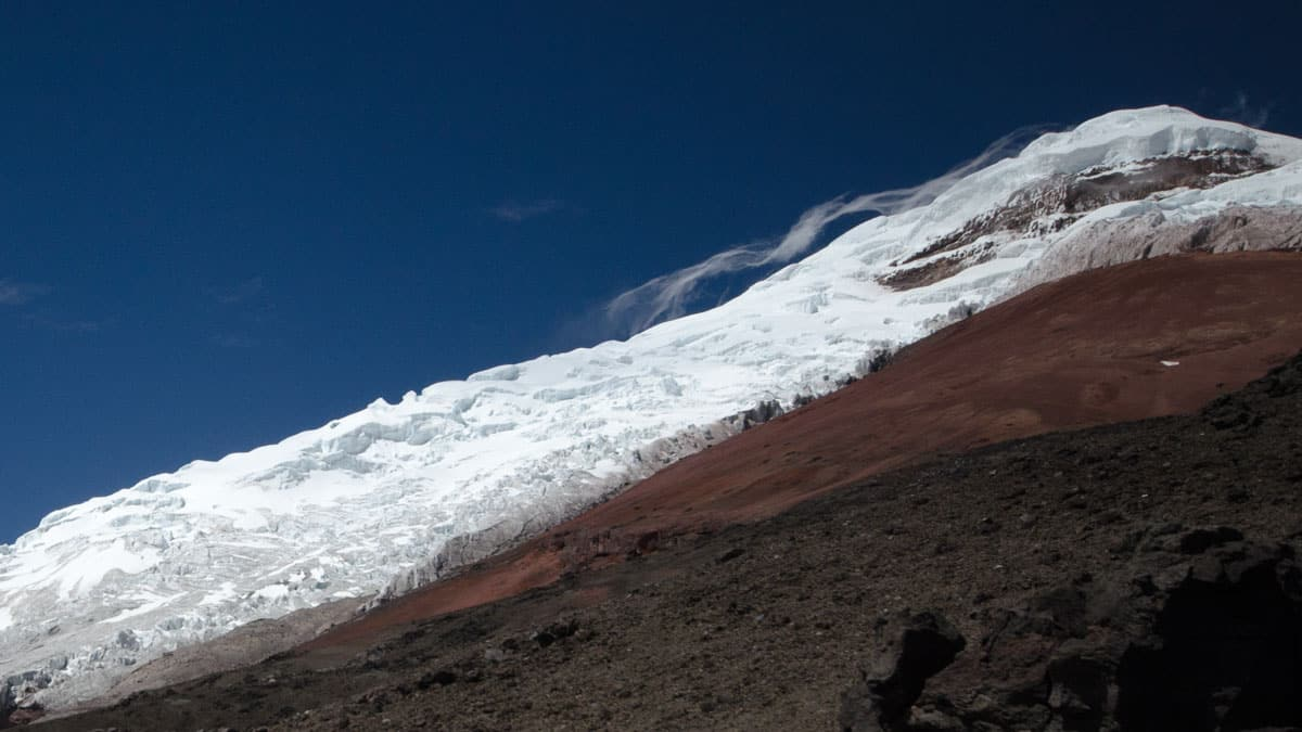 Cotopaxi at Close Range | July 2014 | ©Angela Drake