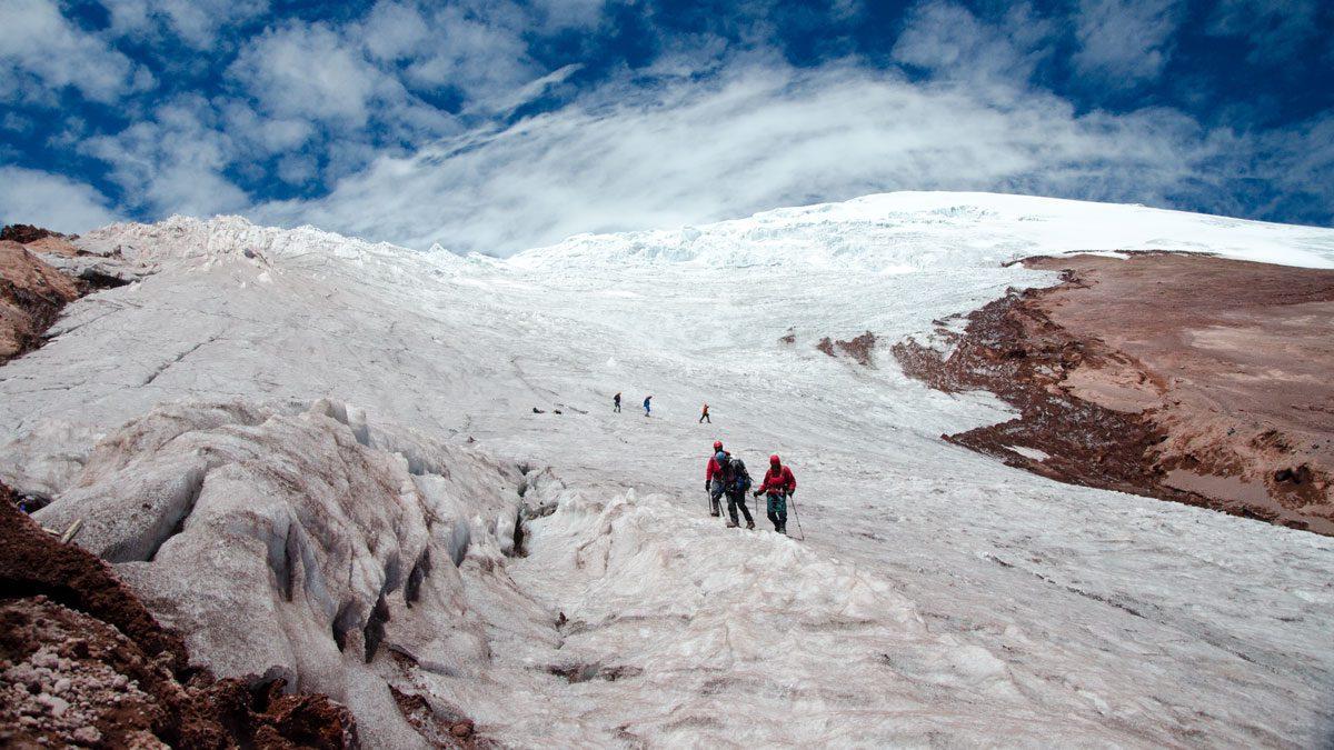 Cotopaxi Glacier | July 2014 | ©Angela Drake