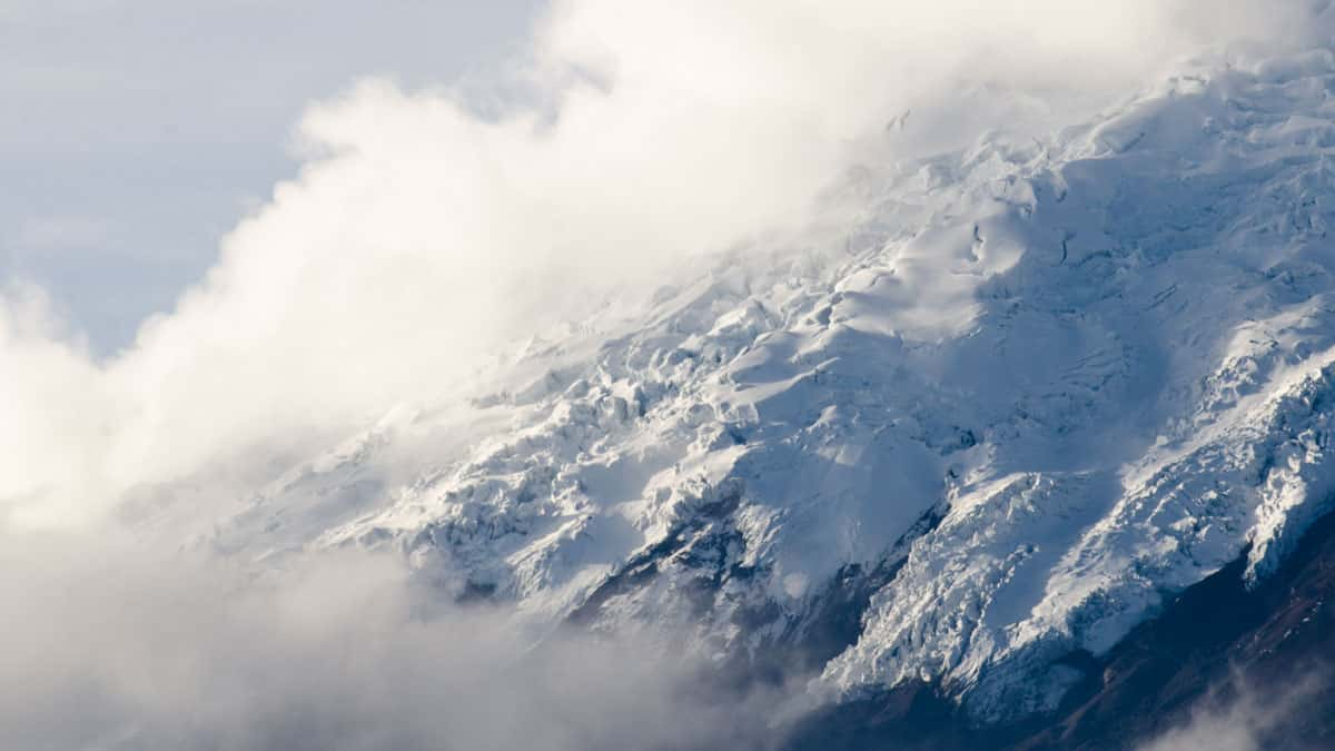 Cotopaxi Glacier Ice | January 2014 | ©Angela Drake
