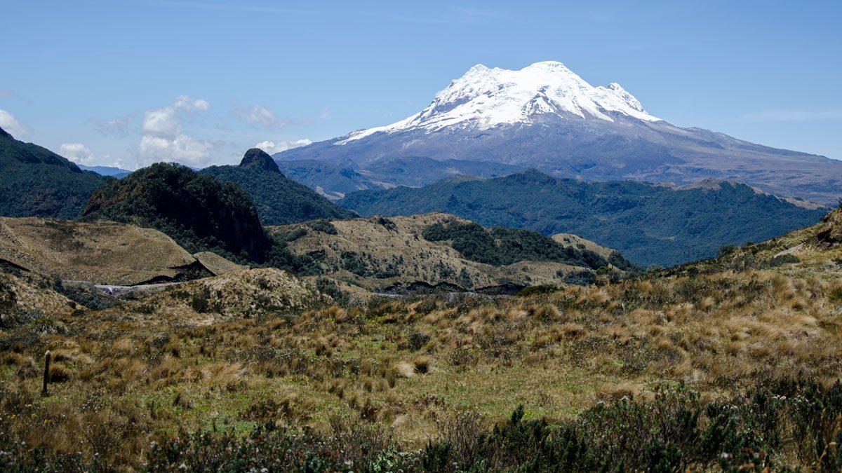The Antisana Volcano on a clear morning in September | © Angela Drake