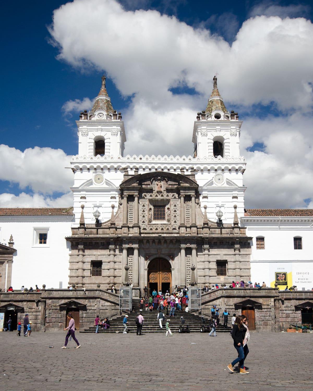 Iglesia San Francisco, Quito, Ecuador | ©Angela Drake