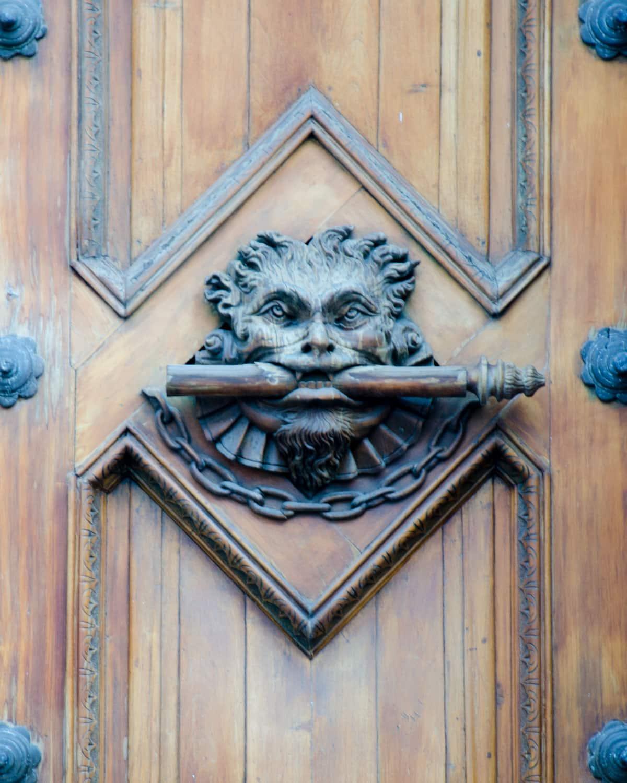 Door Knocker, Historic Center, Quito, Ecuador | ©Angela Drake