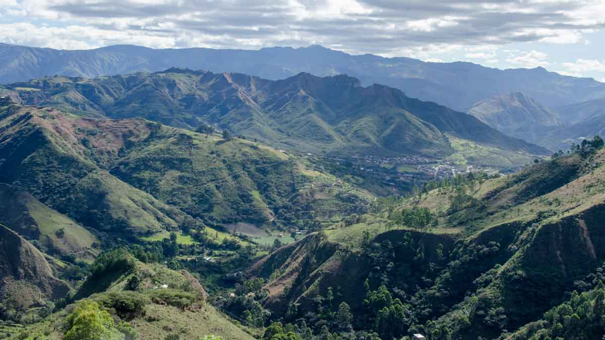 The Andes around Vilcambamba, Ecuador | ©Angela Drake