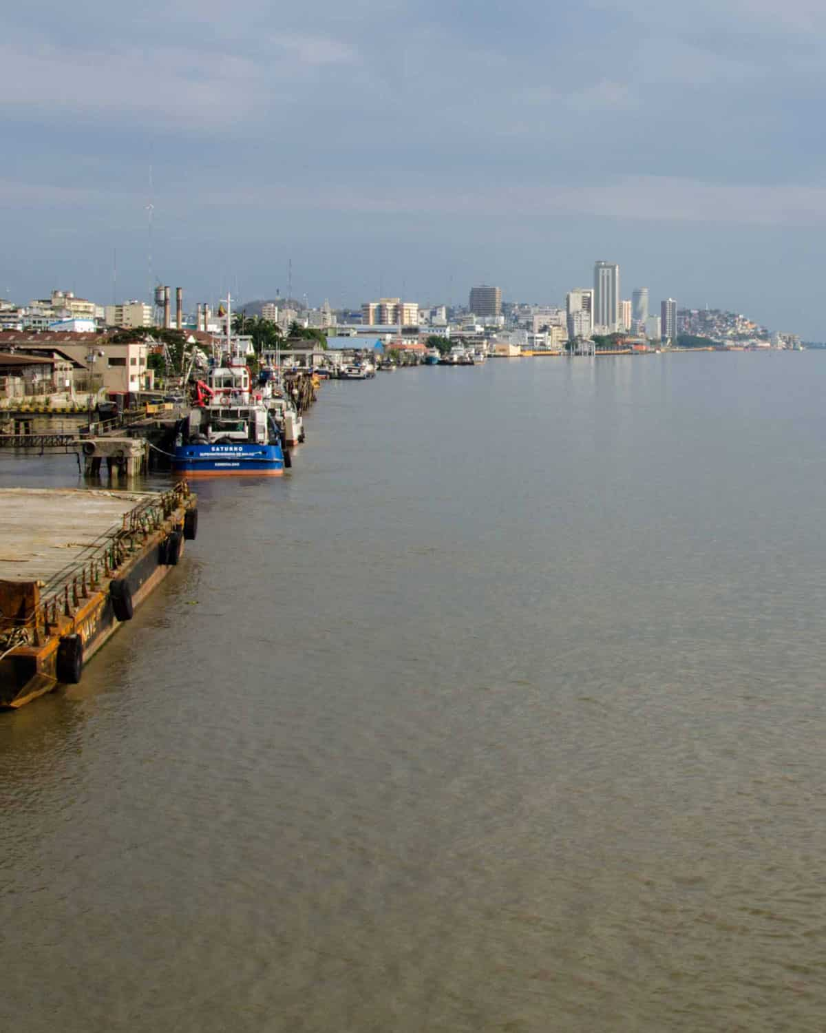 Ports in Guayaquil | ©Angela Drake