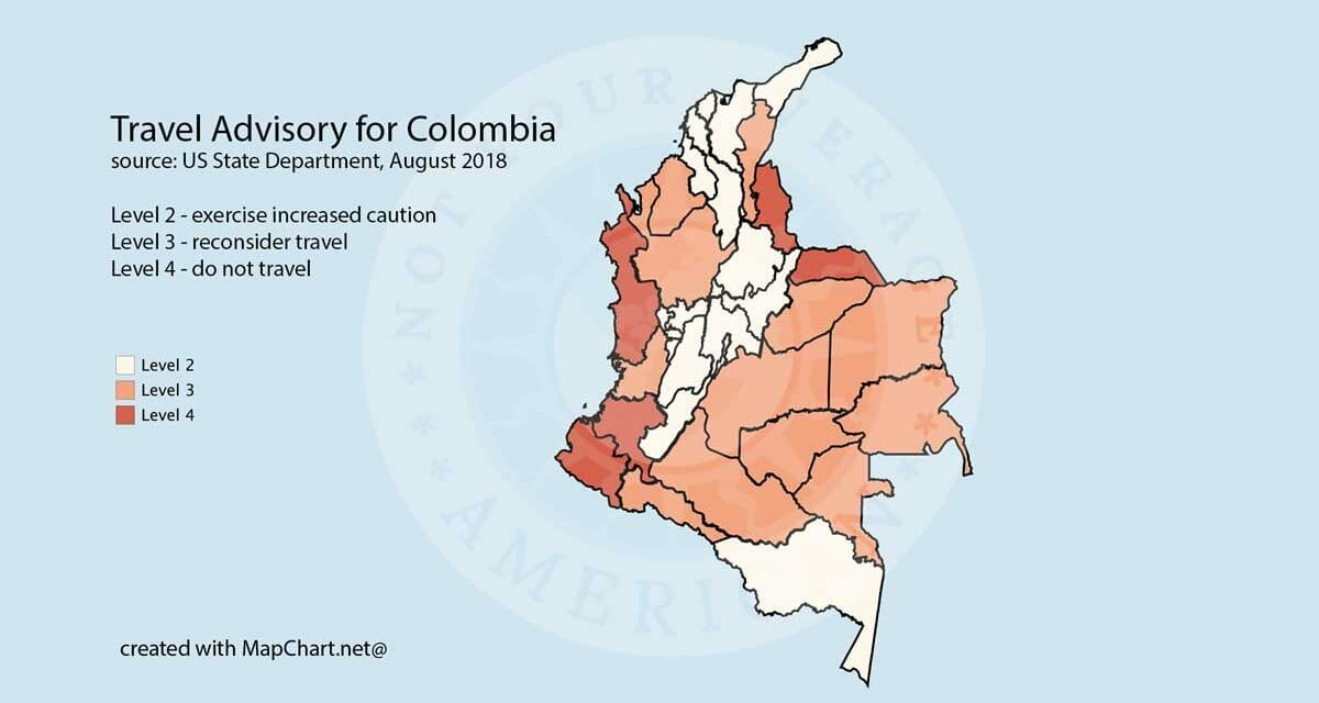 Safe Travel in Colombia