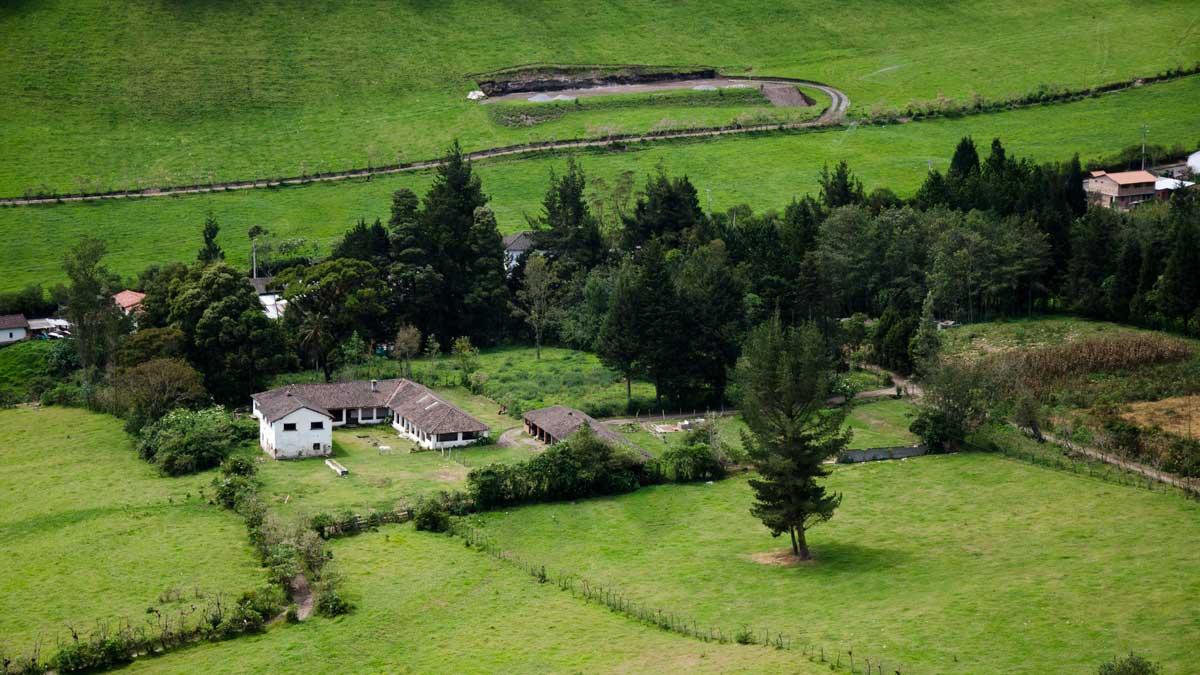 A local estancia near Nono, Ecuador   ©Angela Drake