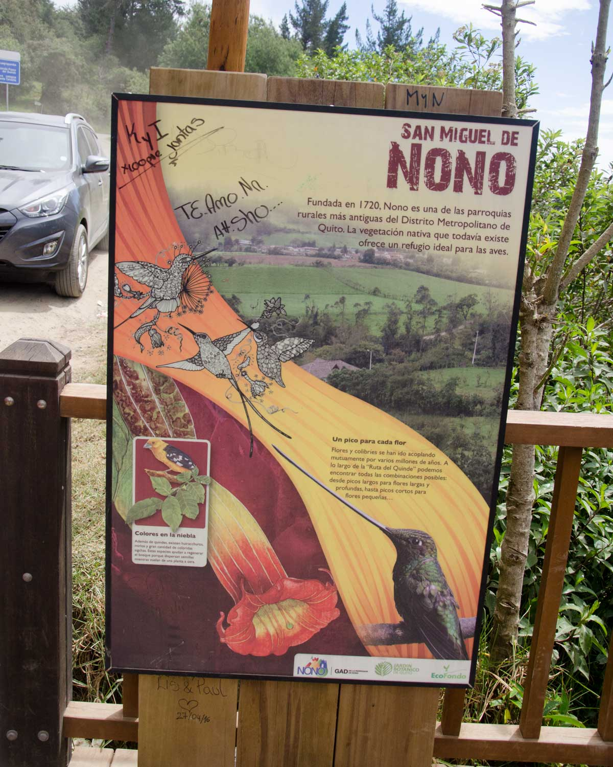 Description of Nono, Ecuador | ©Angela Drake