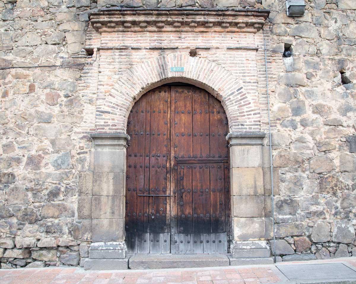 Doorway of the Museo Santa Clara, Bogota, Colombia | ©Angela Drake