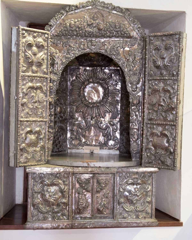 Silver Reliquary, Museo Arquidiocesano de Arte Religioso   ©Angela Drake