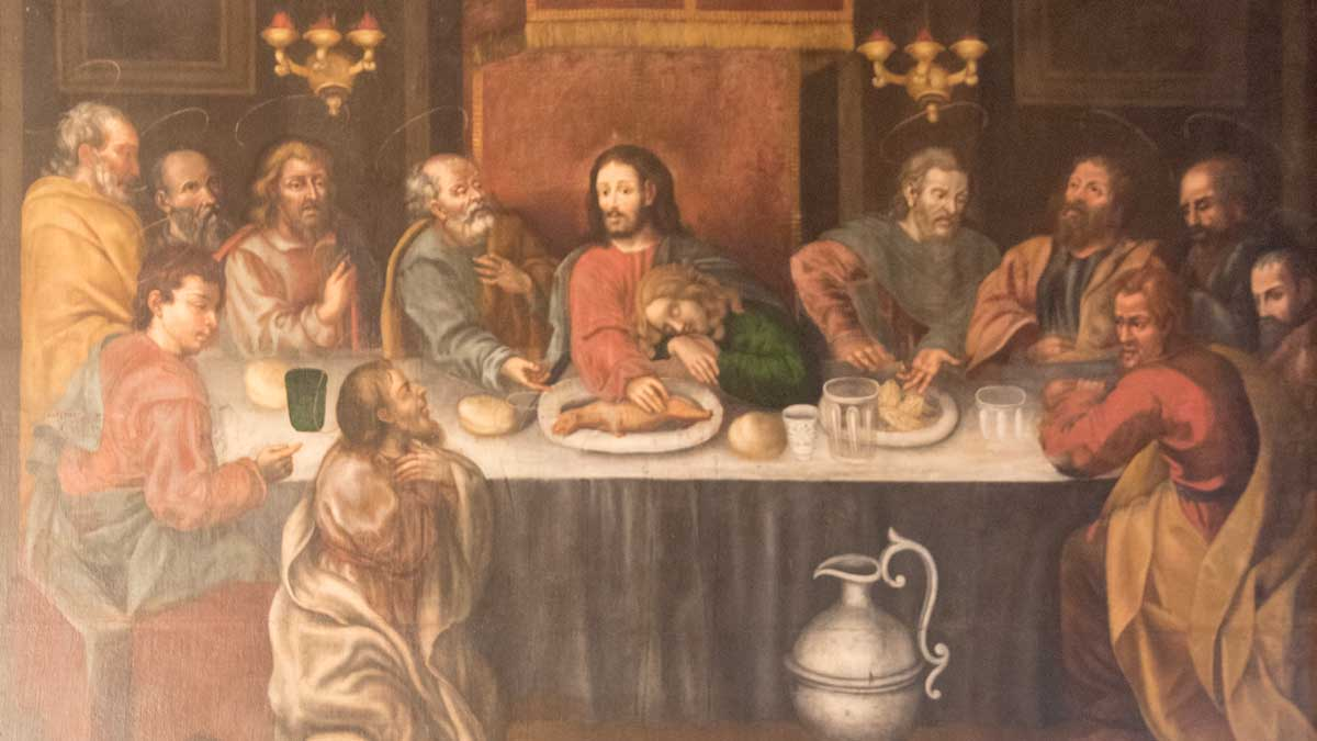 The Last Supper by Miguel de Santiago, San Diego Convent, Quito | ©Angela Drake