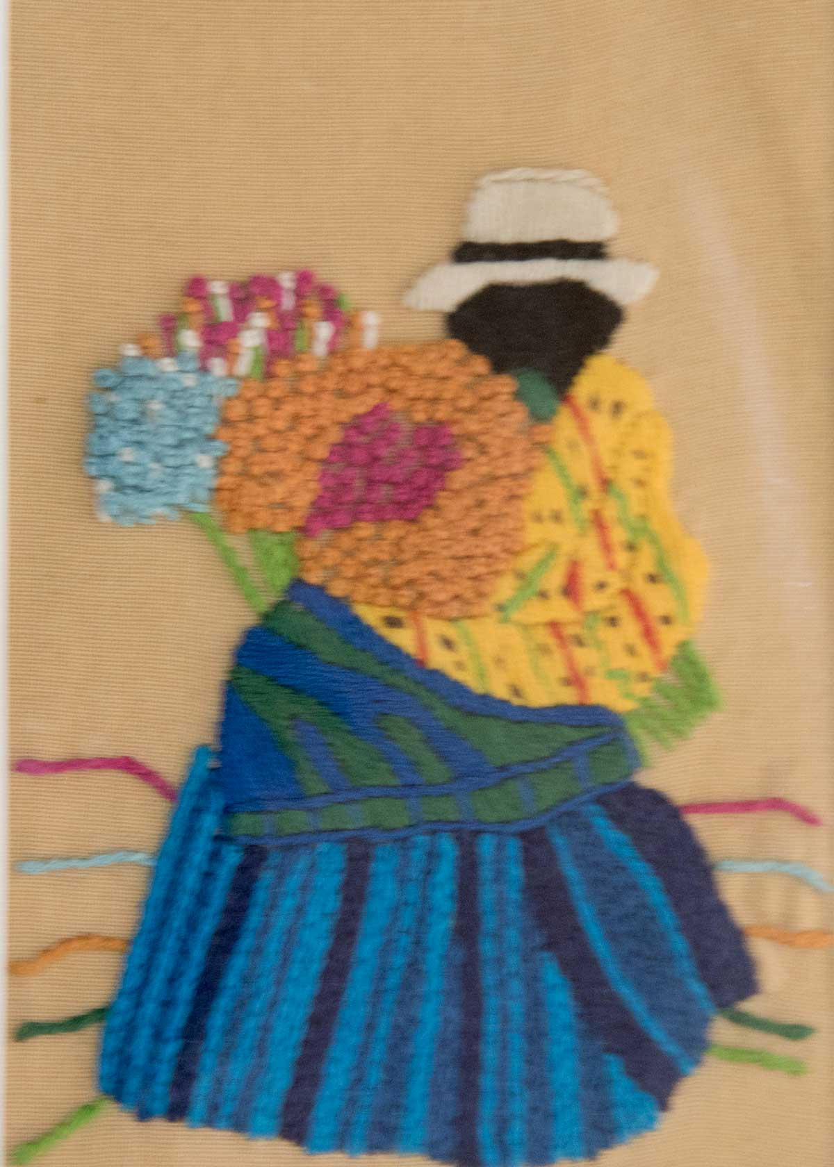 Chola Cuencana; Exhibit of Cuenca Fiber Artists | ©Angela Drake