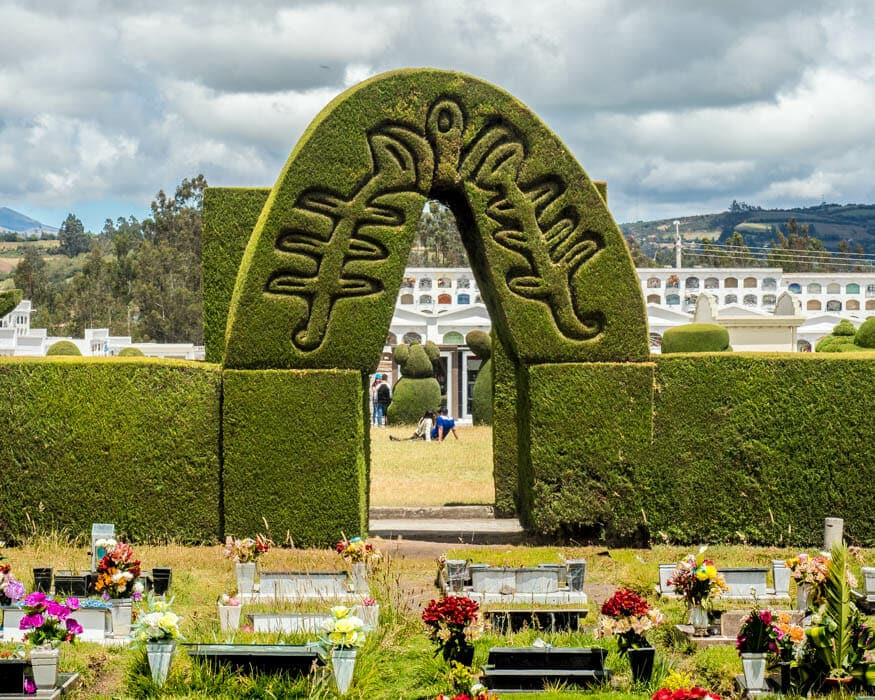 A New Archway, Tulcan Cemetery, Ecuador | © Ernest Scott Drake