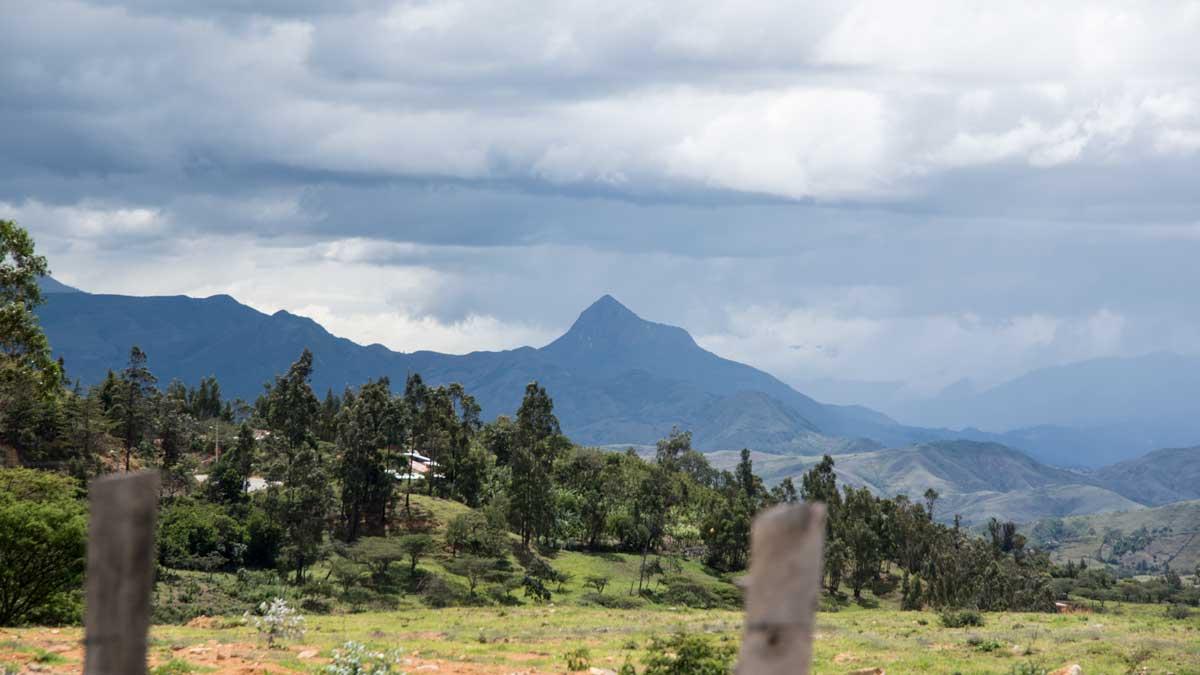 Along Highway 69 near Cariamanga, Ecuador   ©Angela Drake