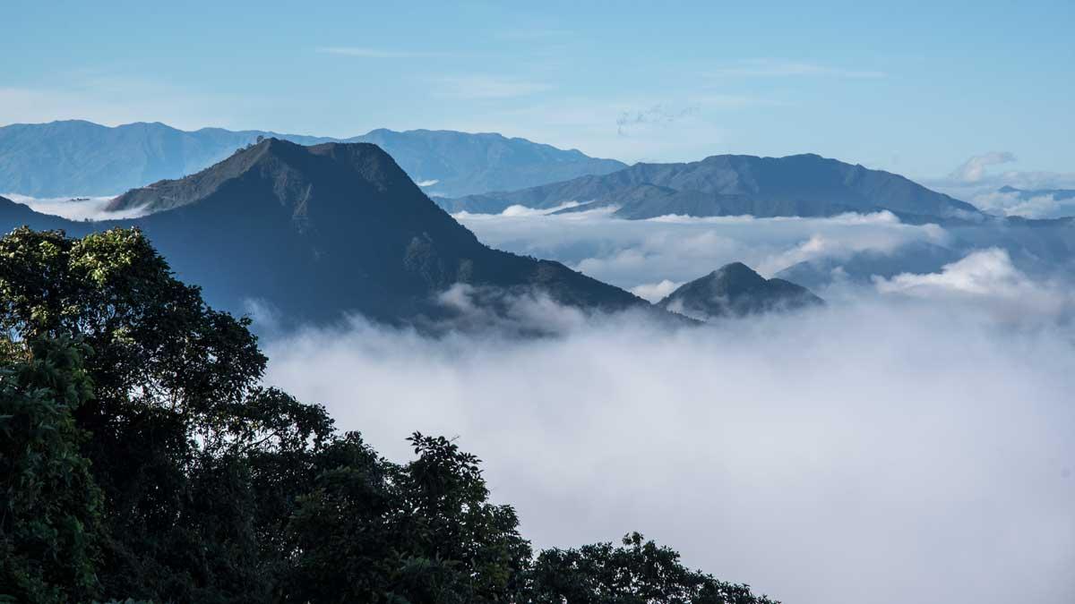 Near the pass at Utuana, Ecuador   ©Angela Drake