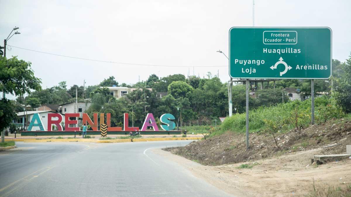 Traffic Circle in Arenillas, Ecuador   ©Angela Drake