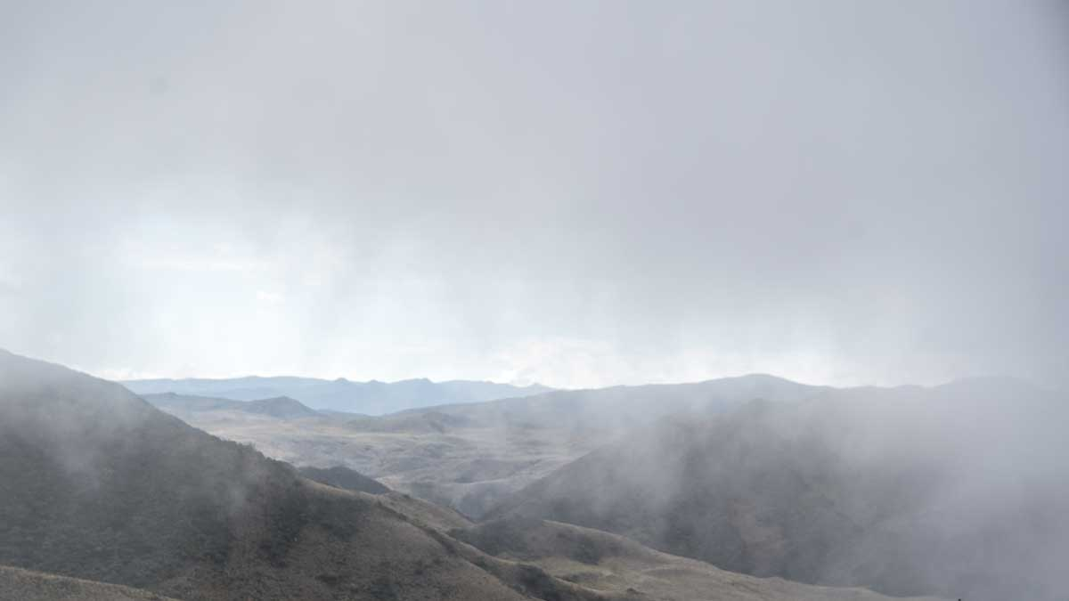 High Paramo on Highway 594 in Southern Ecuador   ©Angela Drake