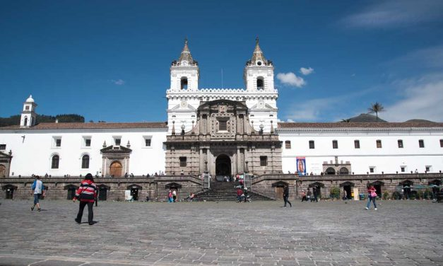 Quito's Historic San Fransisco Plaza