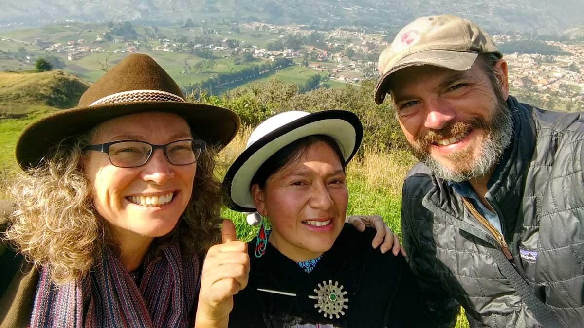 Touring Tambo with Tamia, Ecuador | ©Angela Drake