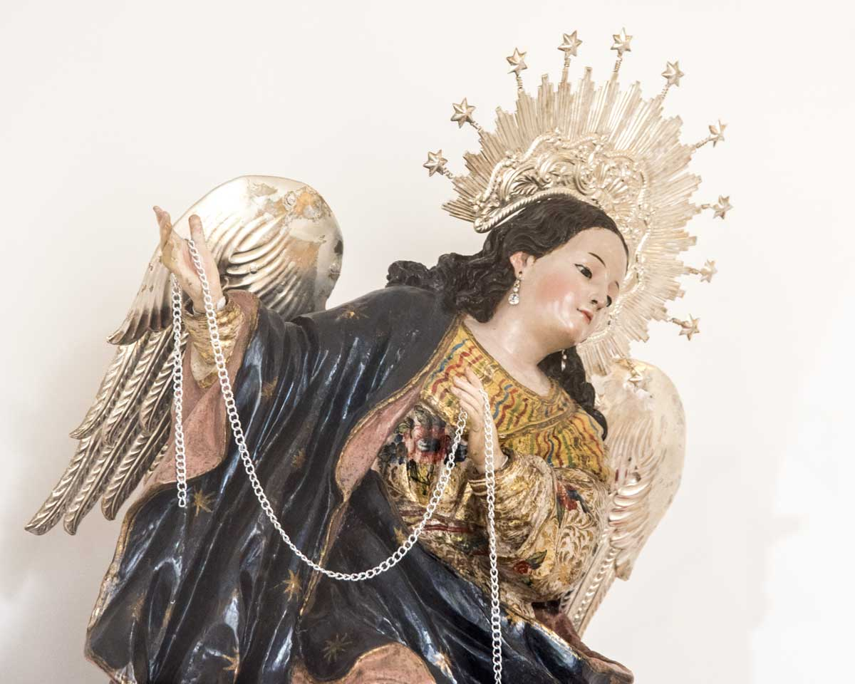 Bernardo De Legarda's Virgin of Quito, San Francisco Church Museum, Quito | ©Angela Drake