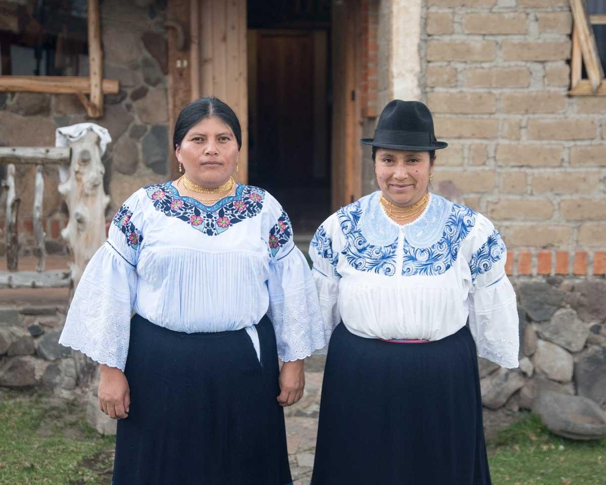 Artisans from Zuleta, Imbabura, Ecuador | ©Angela Drake