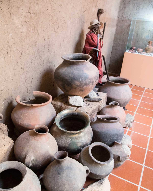Pottery Jars, Chobshi Museum, Sigsig, Ecuador | ©Angela Drake