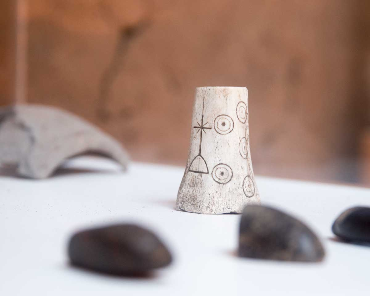 Rolled like a die in a game, this small object determines how an estate is divided; Chobshi Museum, Sigsig, Ecuador | ©Angela Drake